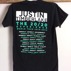 Justin Timberlake Concert Tee SZ Small Shirt 2020